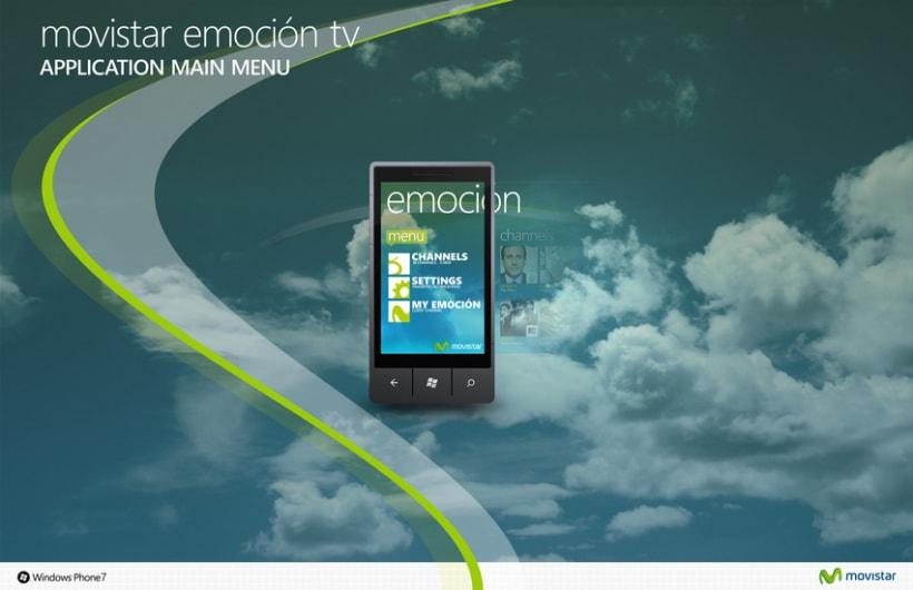 Movistar Emocion Windows Phone 7 3