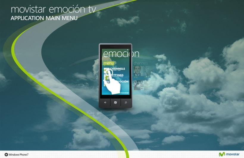 Movistar Emocion Windows Phone 7 4