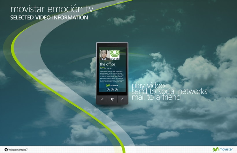 Movistar Emocion Windows Phone 7 9