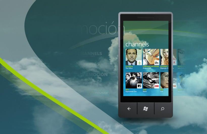 Movistar Emocion Windows Phone 7 6