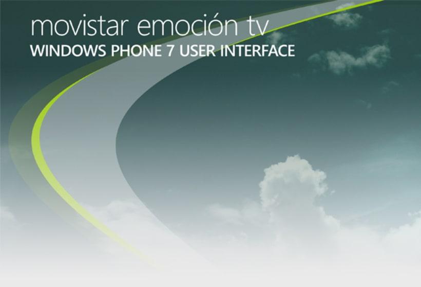 Movistar Emocion Windows Phone 7 1