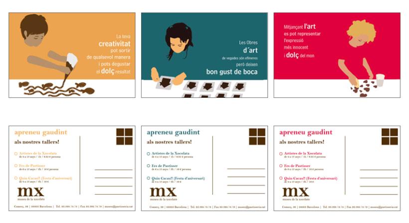 Propuesta de postales para el Museu de la Xocolata 5