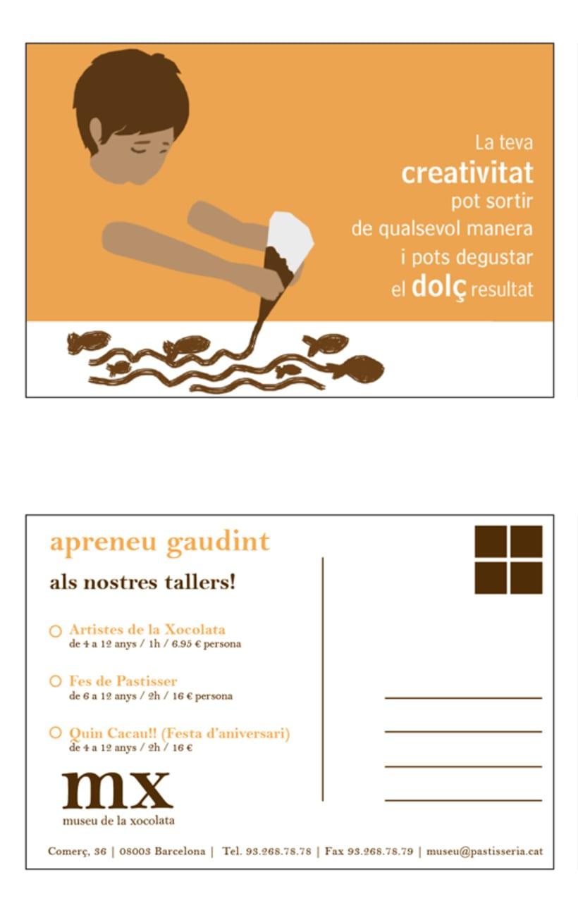 Propuesta de postales para el Museu de la Xocolata 8