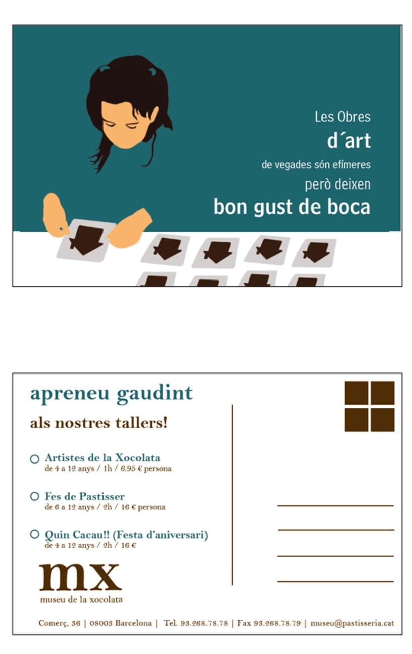 Propuesta de postales para el Museu de la Xocolata 7