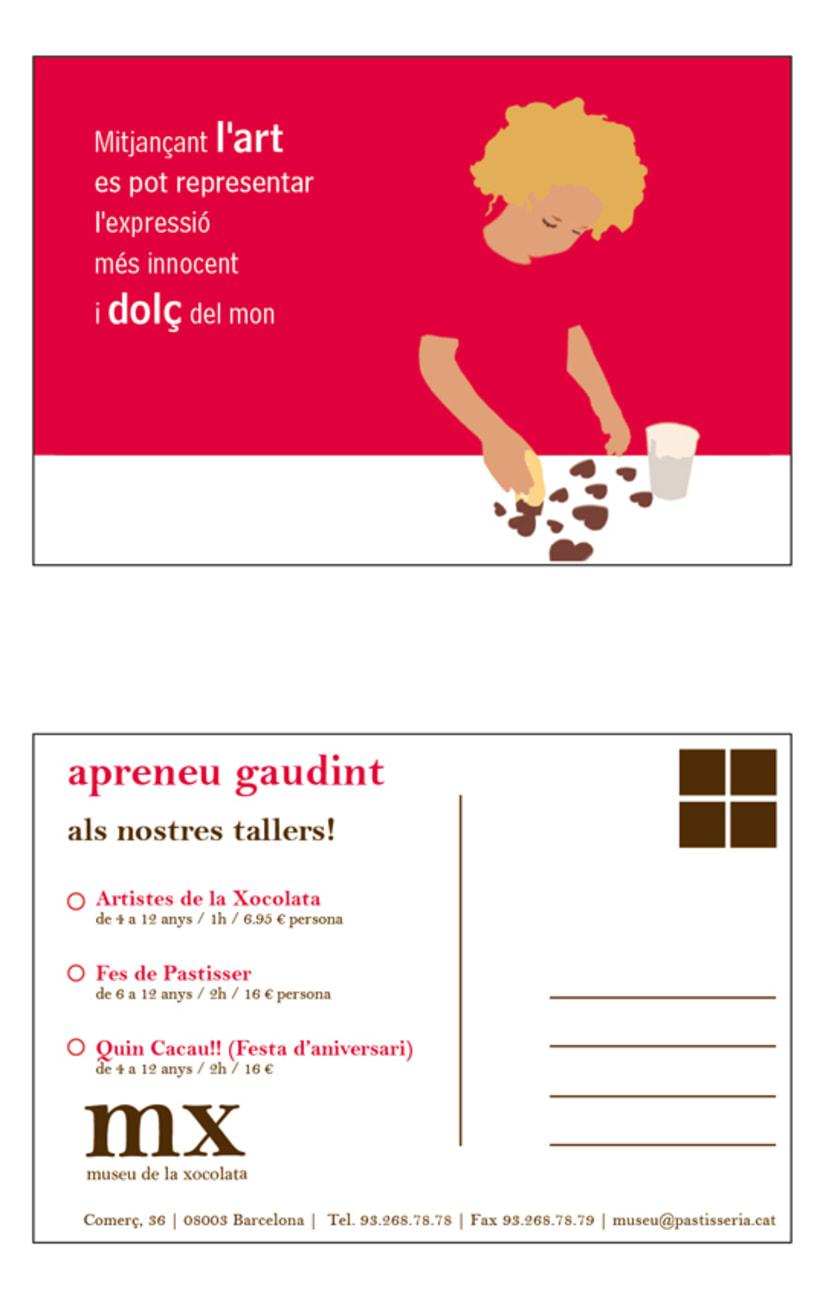 Propuesta de postales para el Museu de la Xocolata 6