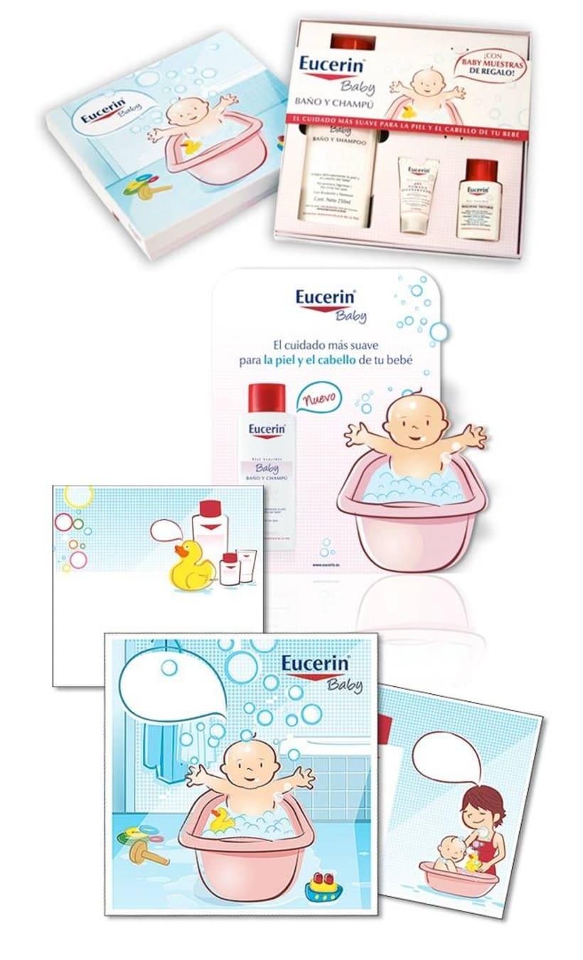 Pack Eucerin bebé 2