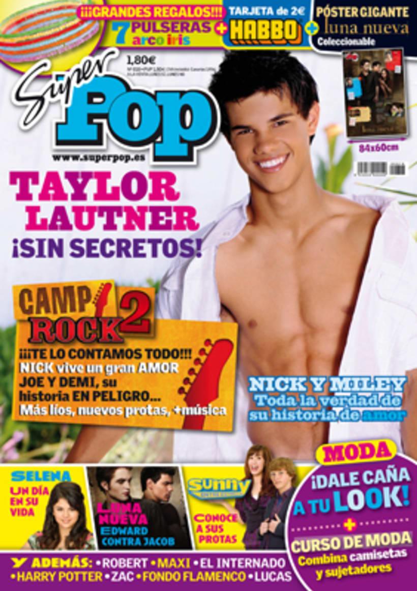 """Revista """"SúperPop"""" - Maquetación y diseño  2"""