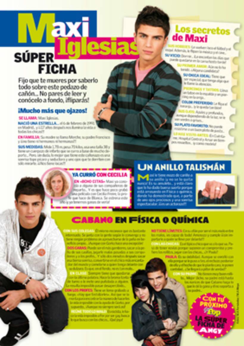 """Revista """"SúperPop"""" - Maquetación y diseño  8"""