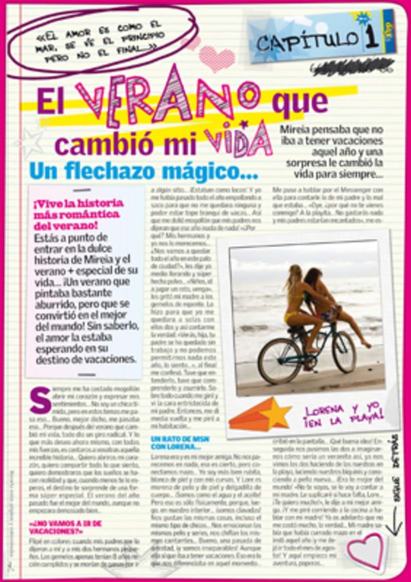 """Revista """"SúperPop"""" - Maquetación y diseño  6"""