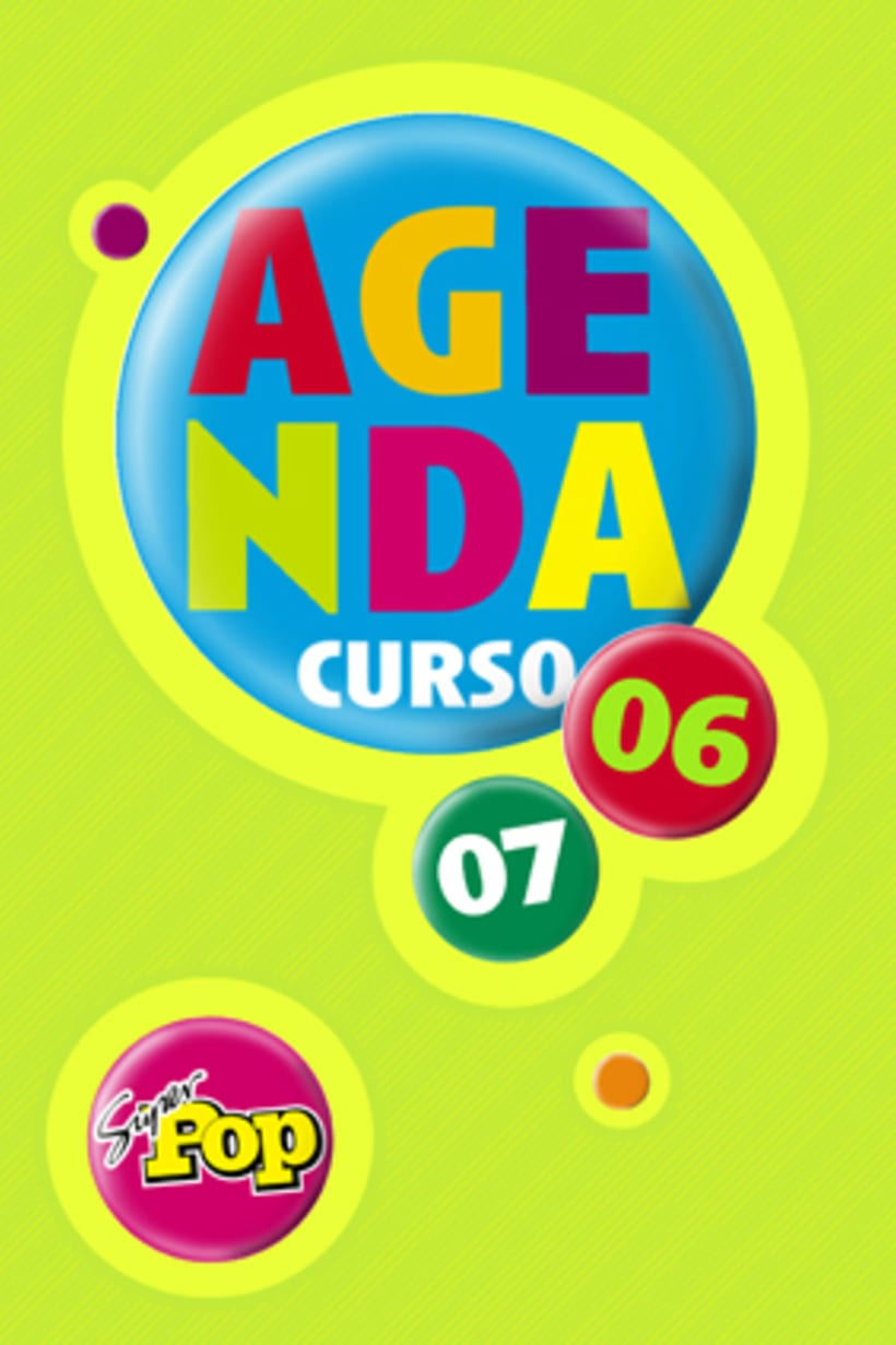 Diseño AGENDAS - Revista SúperPop 7