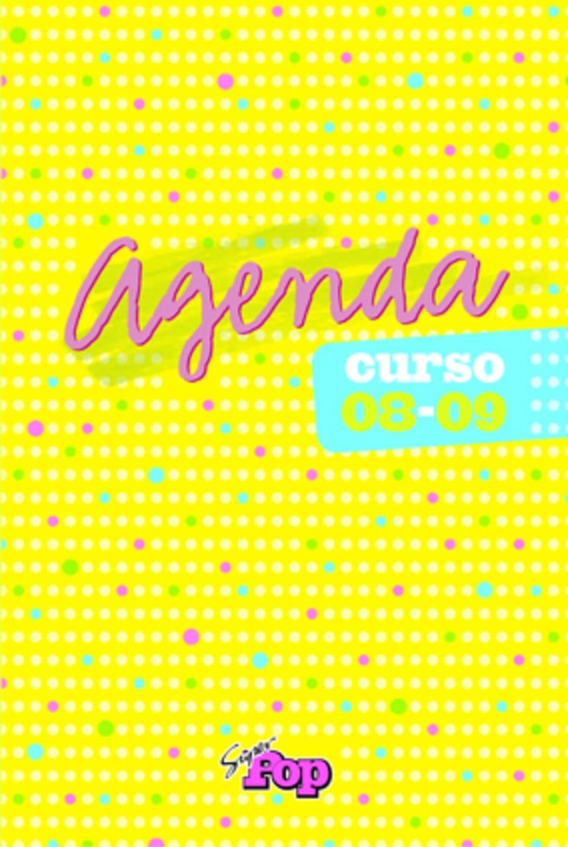 Diseño AGENDAS - Revista SúperPop 3