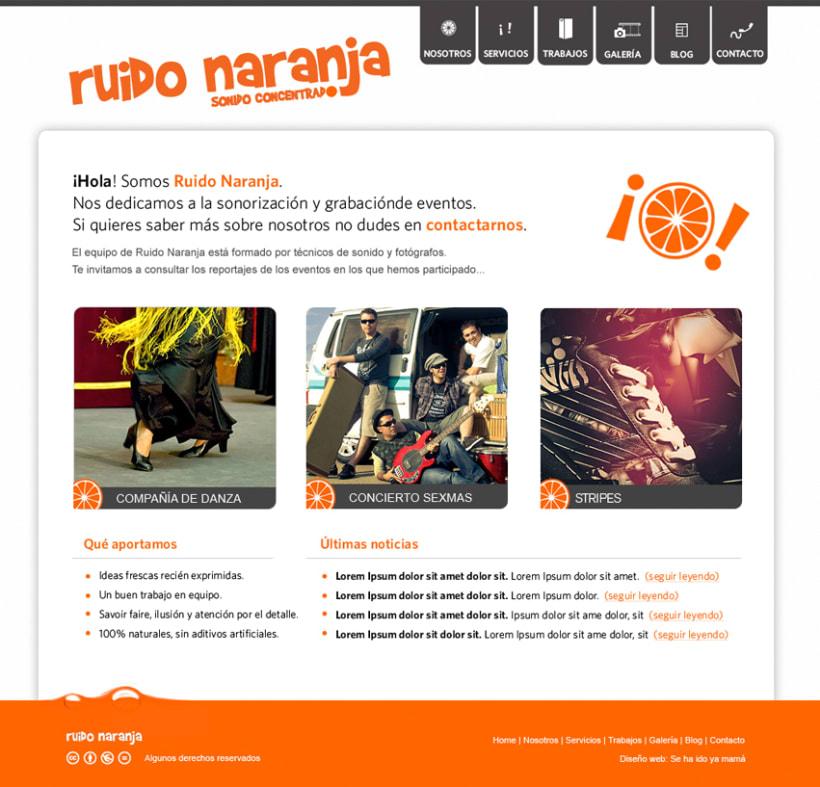 Website Ruido Naranja 1