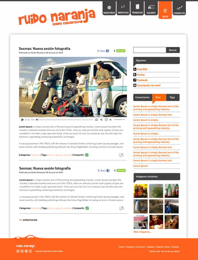 Website Ruido Naranja 2