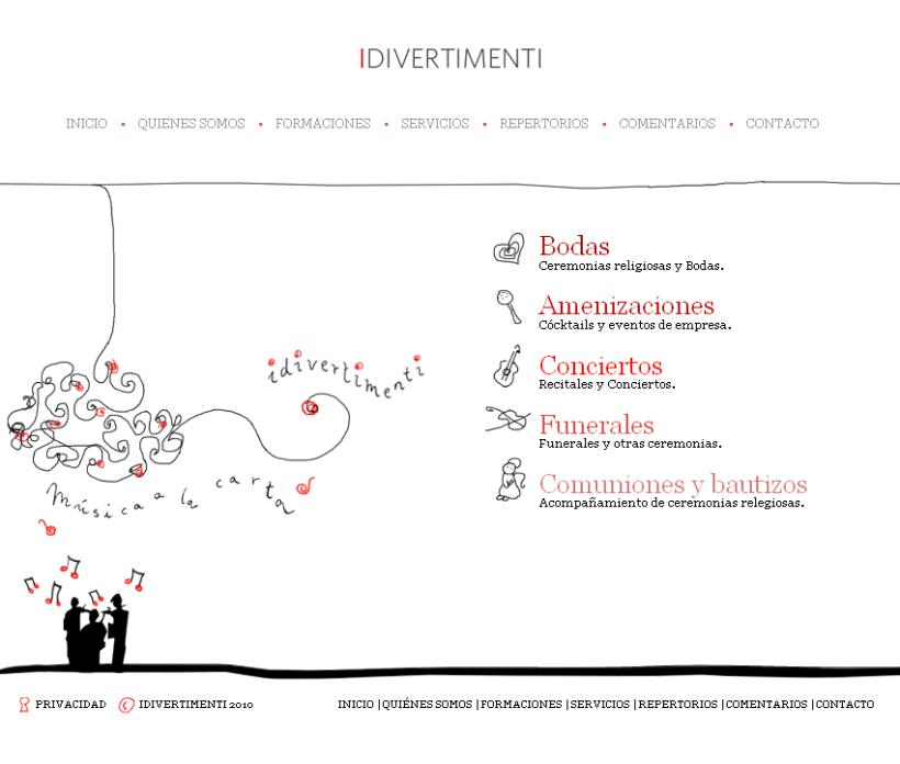 Website Idivertimenti 1
