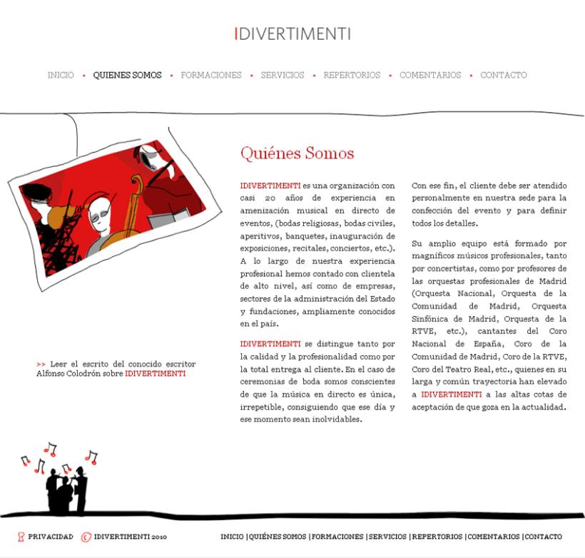 Website Idivertimenti 2