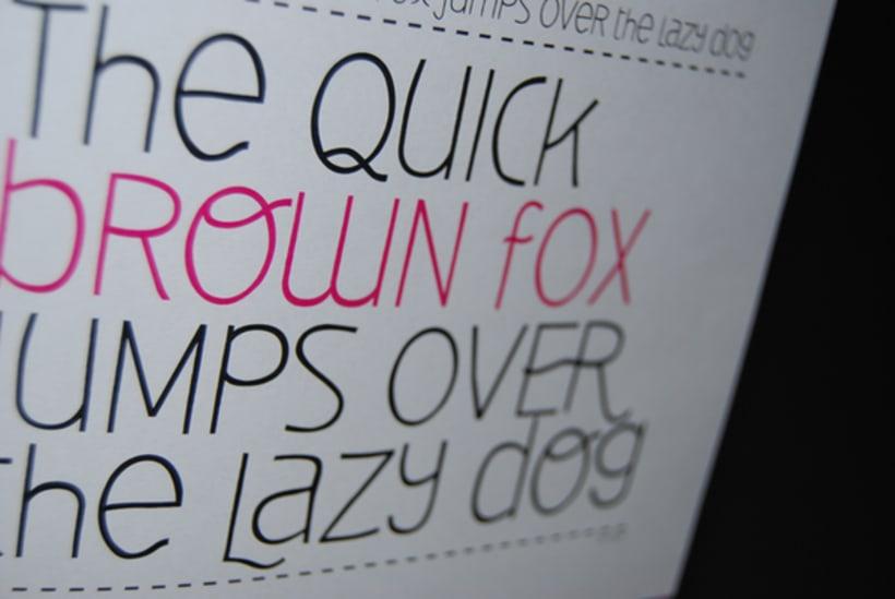 Deibi Free font 12