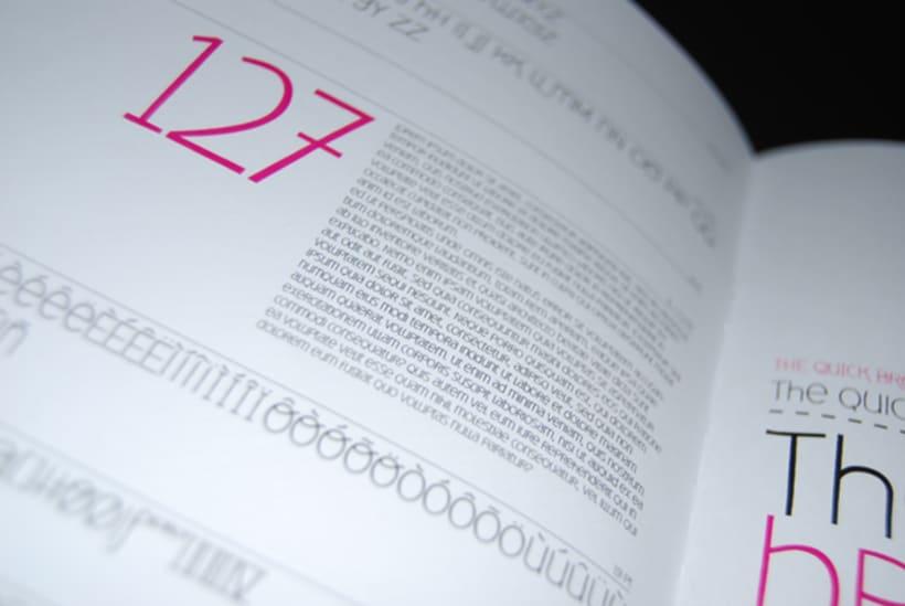 Deibi Free font 11
