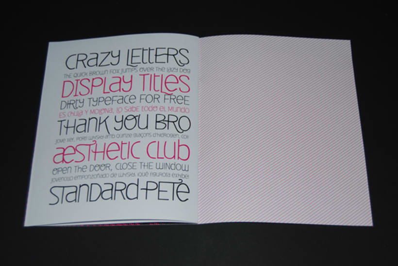 Deibi Free font 8