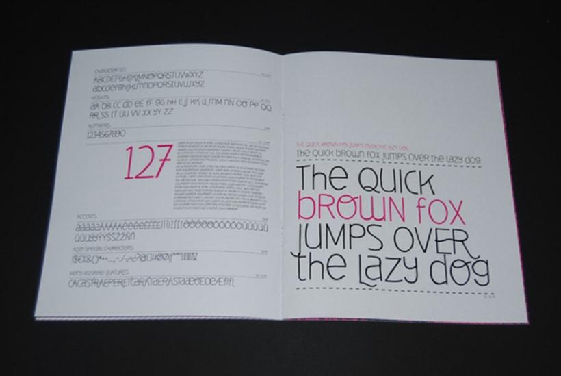 Deibi Free font 5