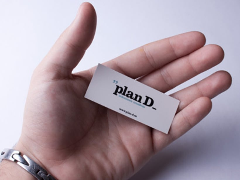 Tarjetas visita Plan D 6