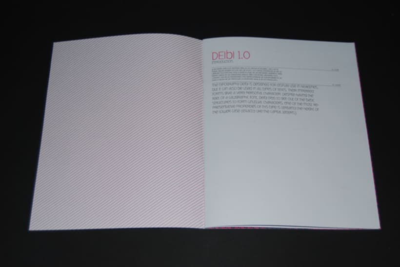 Deibi Free font 4