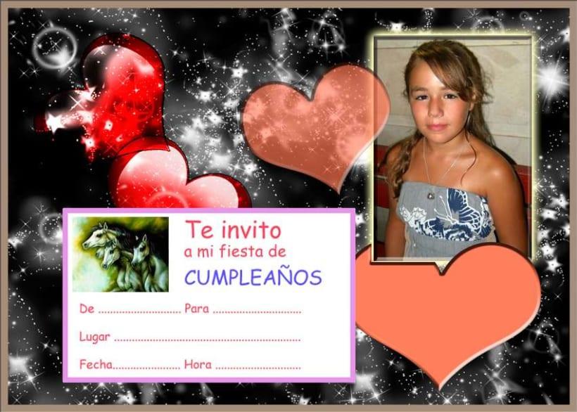 Invitación de cumpleaños 4