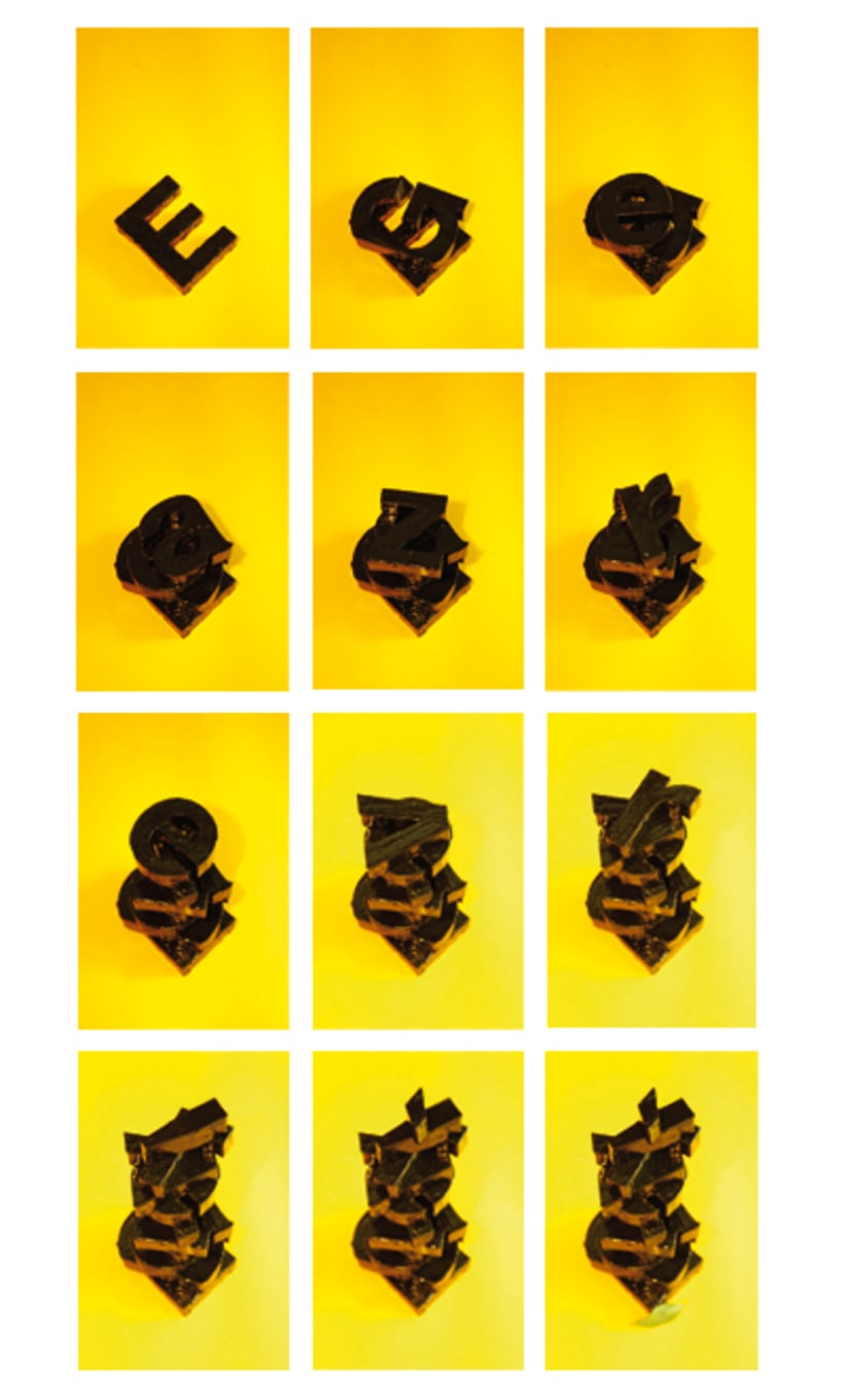 Postre tipográfico / Typographic desserts 2