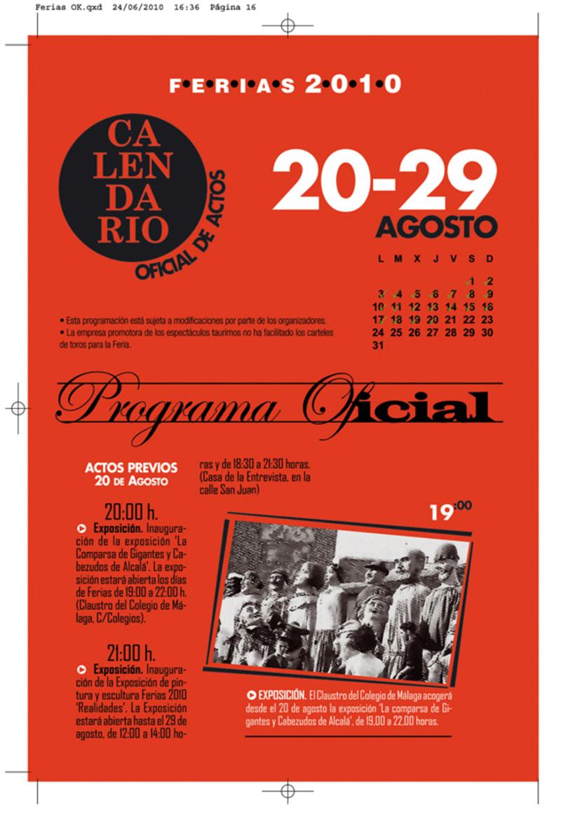 maquetas programa de ferias Alcalá 8