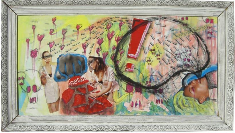 Acrilicos - collage 1