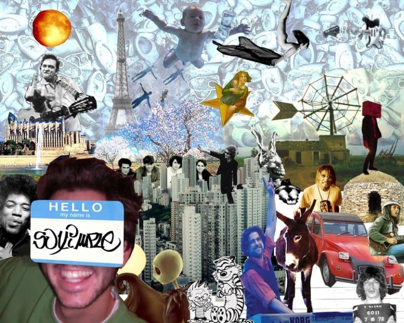 Acrilicos - collage 3