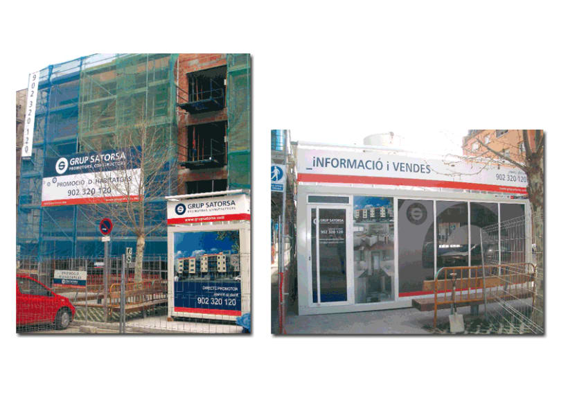 Outdoor Advertising / Corporate image 3