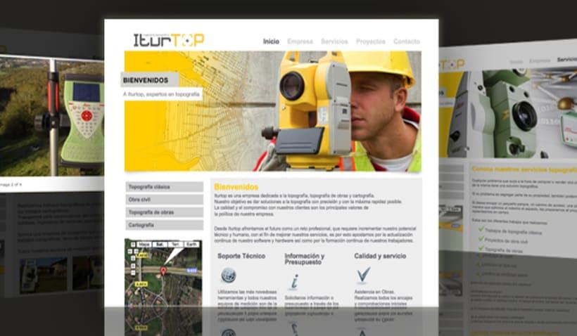 Site corporativo Iturtop 2