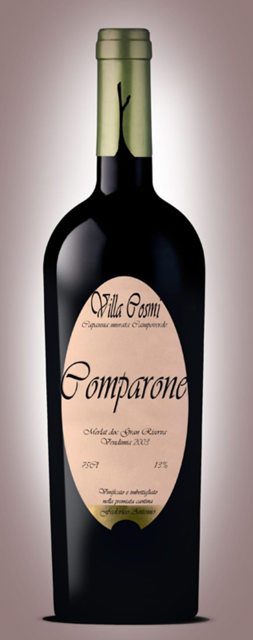 etiquetado vino tinto comparone 1