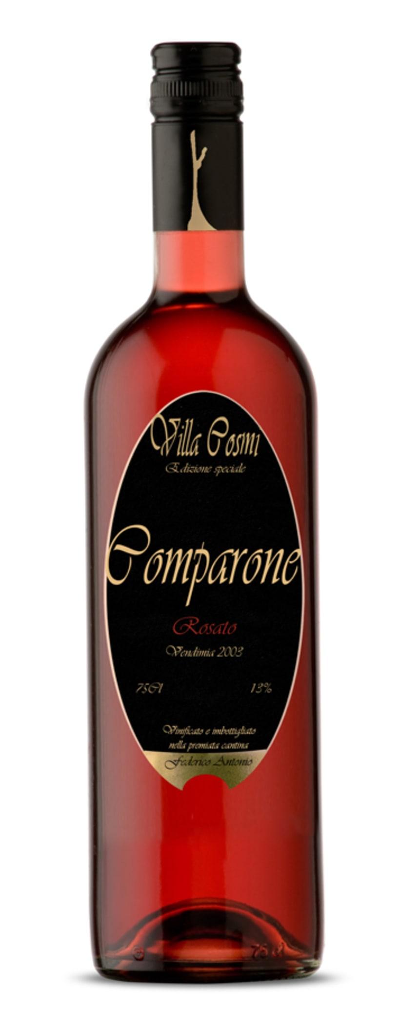 etiquetado vino rosado comparone 1