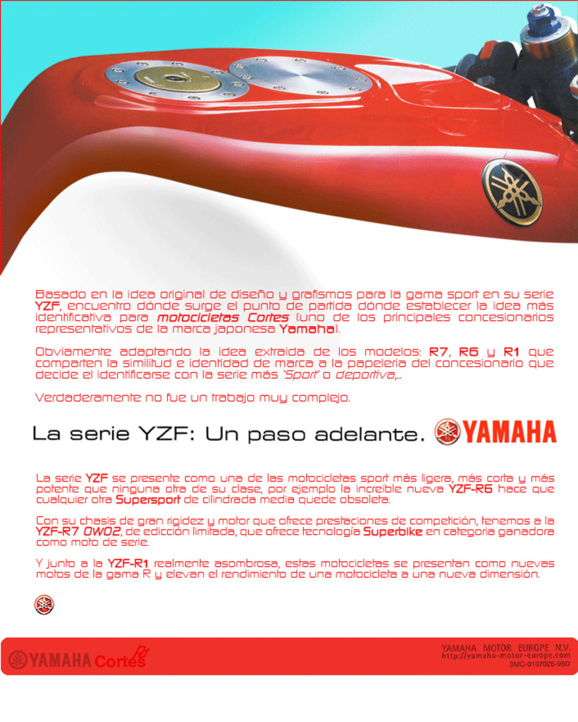 Cortes Yamaha™ 7