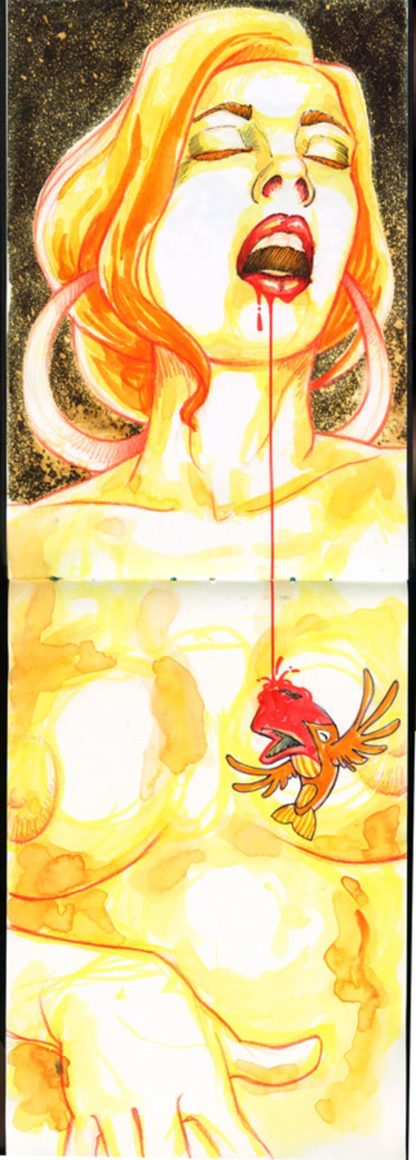 En tránsito (burning) 1
