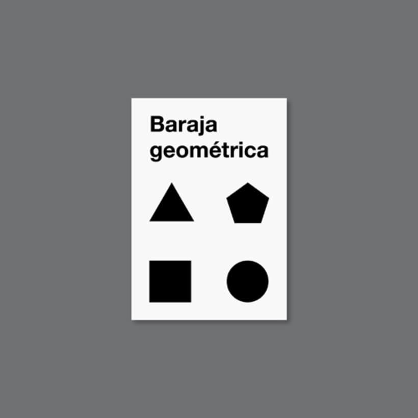 Baraja geométrica 1