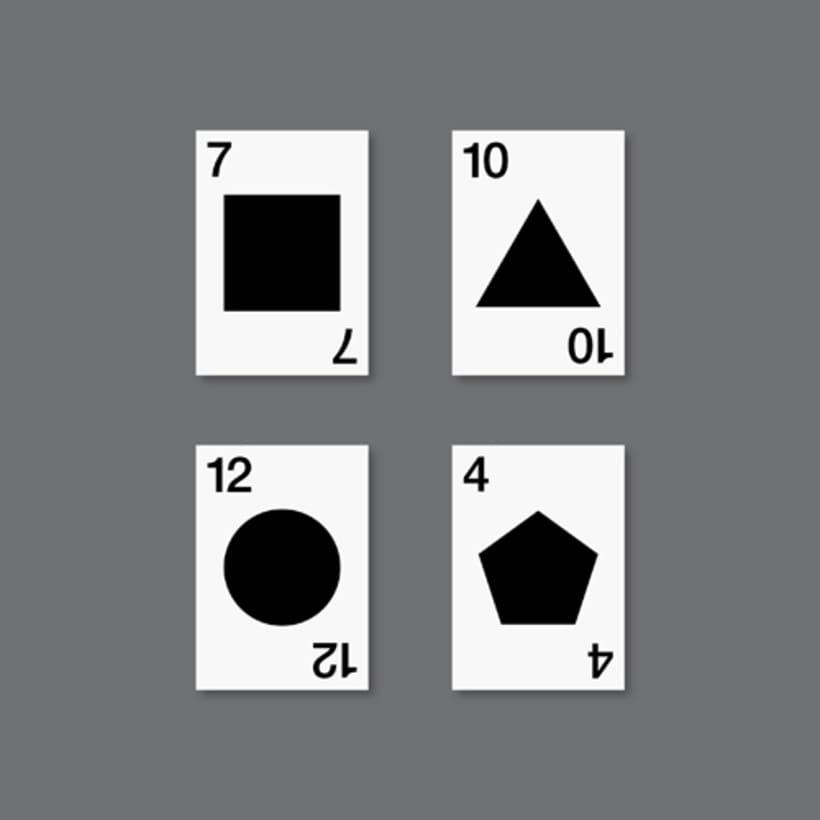 Baraja geométrica 2