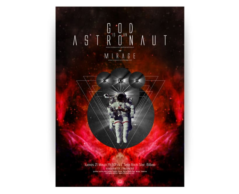 Cartel God is an astronaut 1