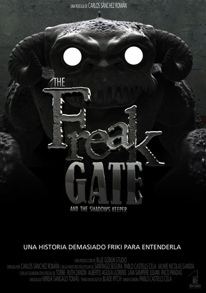 The Freak Gate and the shadows keeper, el cortometraje 2