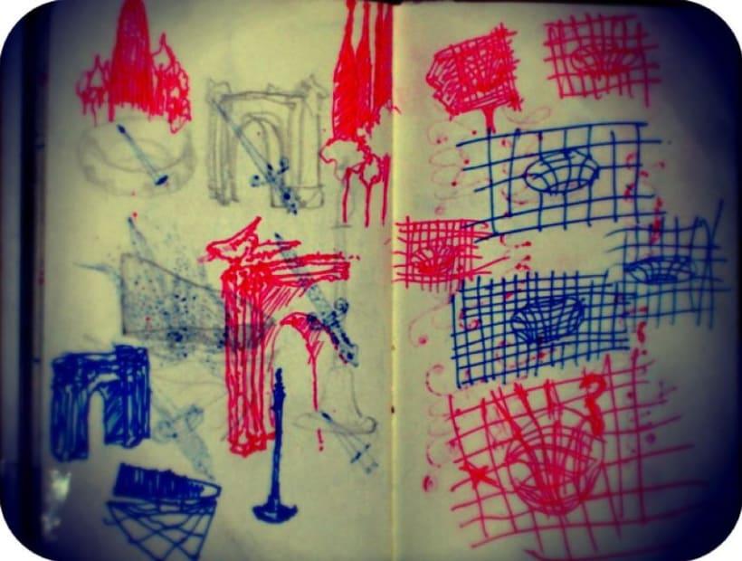 dibujos en el metro 5