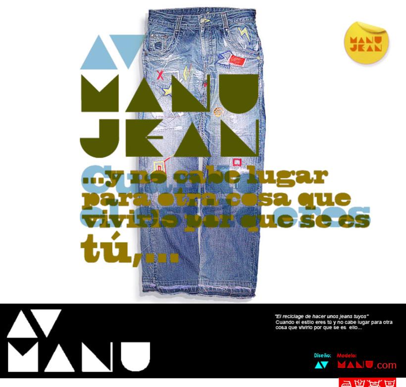AV™ Manu® Jean 3