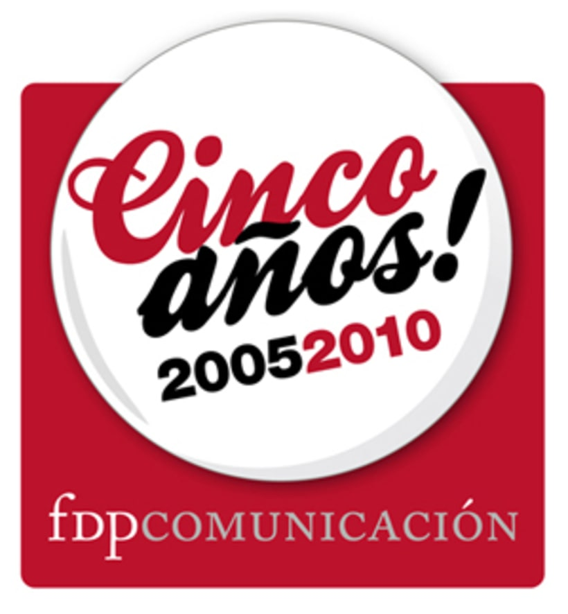 Cinco años FDP Comunicación 2