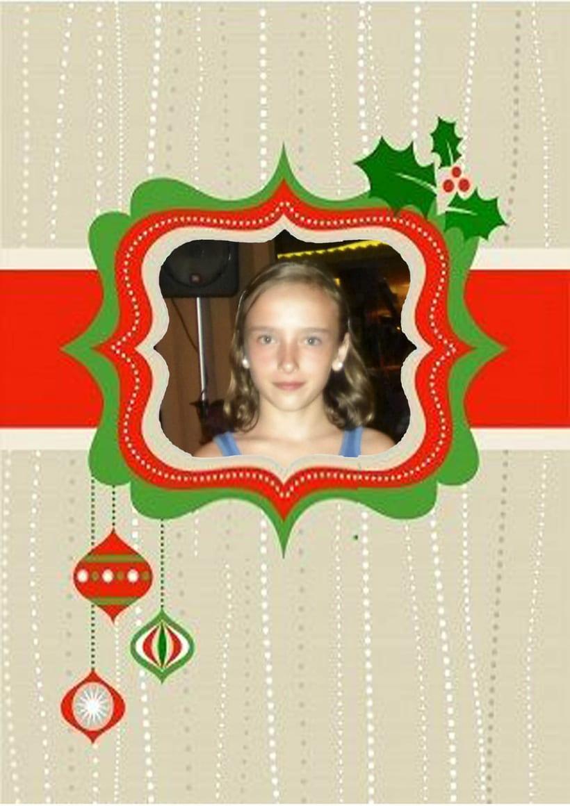 Tarjeta navideña 4