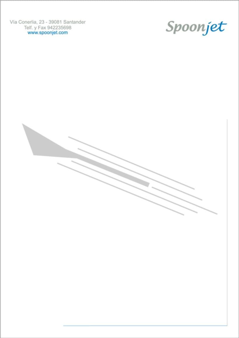 Línea Aérea SPOONJET - Identidad corporativa 9