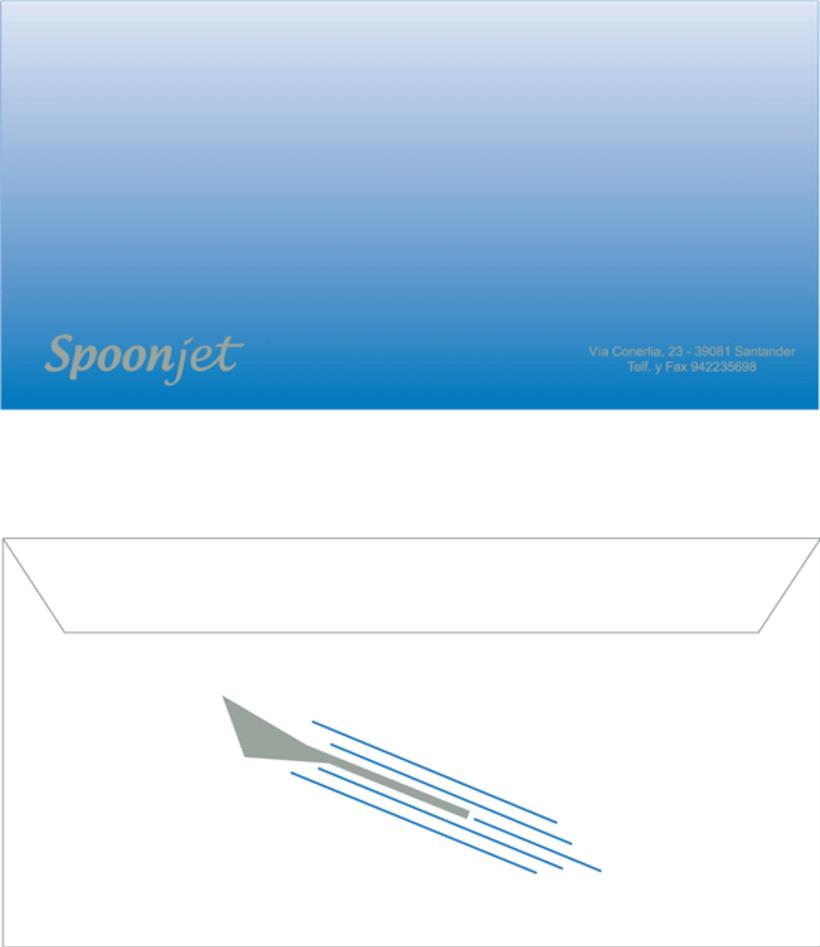 Línea Aérea SPOONJET - Identidad corporativa 11