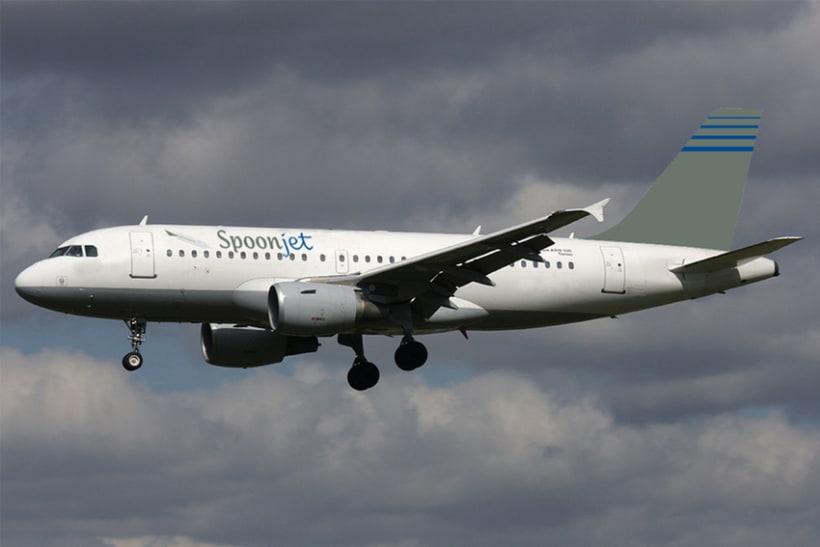 Línea Aérea SPOONJET - Identidad corporativa 35
