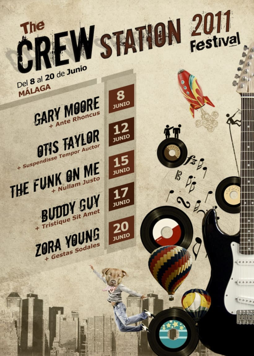 Crew Station Festival 1