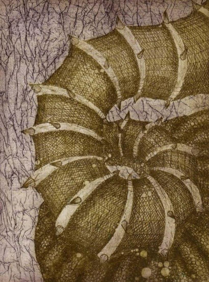 Grabados; xilografía y aguafuerte 10