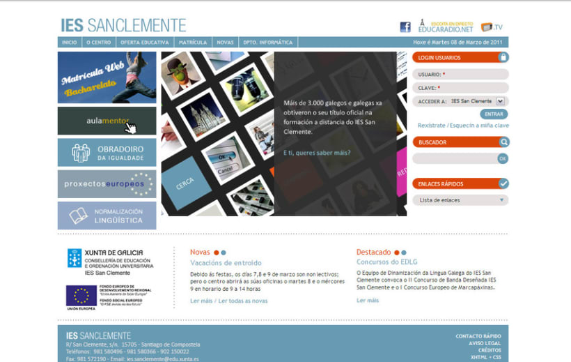 WEBSITE | IES San Clemente 1